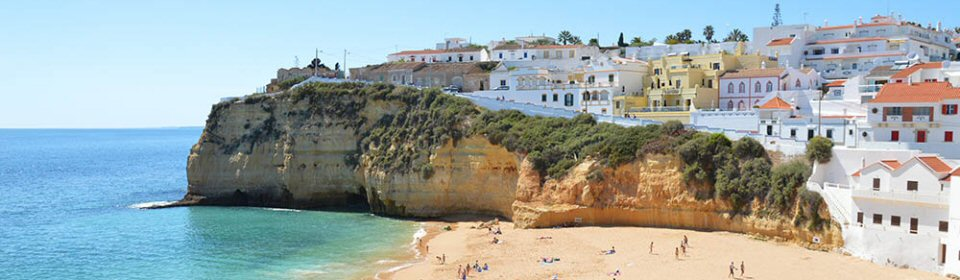 faro car hire carvoeiro beach algarve