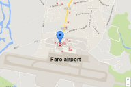 faro airport car rental collection point local